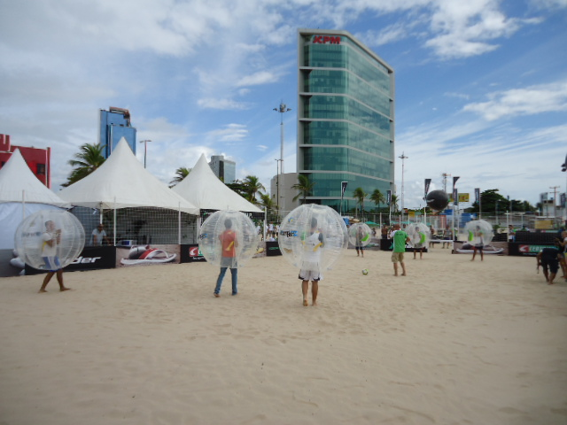 Beach Bubble Football 3