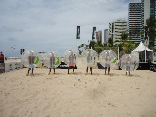 Beach Bubble Football