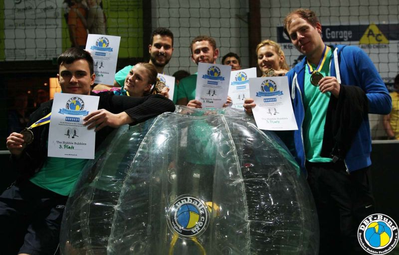 Bubble Football Meisterschaft 19